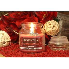Lima Aroma Dreams Romantica aromatická svíčka sklenička s víčkem 300 g