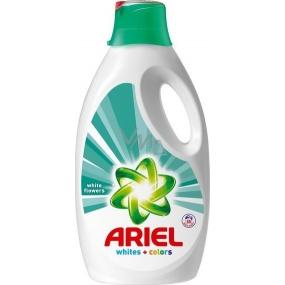 Ariel White Flowers tekutý prací prostředek 50 dávek 3,25 l