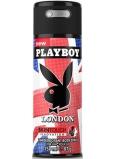 Playboy London SkinTouch deodorant sprej pro muže 150 ml