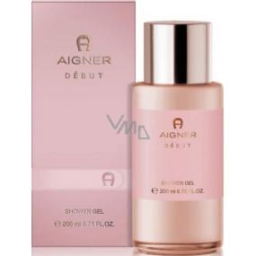 Etienne Aigner Debut sprchový gel pro ženy 200 ml