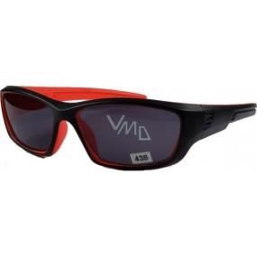 Dudes & Dudettes JK438 černo-oranžové sluneční brýle pro děti