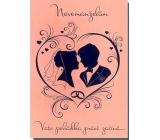 Albi Hrací přání do obálky K svatbě Lásko má, já stůňu Helena Vondráčková 14,8 x 21 cm