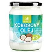 Allnature Premium Bio Kokosový olej panenský ze Sri Lanky 500 ml