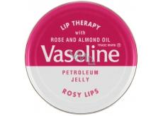 Vaseline Lip Therapy Růže petrolejová mast na rty 20 g