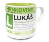 Nekupto Hrnkoviny Hrnek se jménem Lukáš 0,4 litru