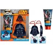 Disney Star Wars Darth Vader sprchový gel 150 ml + mycí houba + přívěšek na klíče, kosmetická sada expirace 12/2017