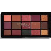Makeup Revolution Re-Loaded paletka očních stínů Newtrals 3 15 x 1,1 g