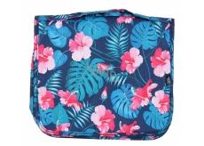 Albi Original Cestovní závěsná kosmetická taška Ibišek 24 x 19 x 8 cm