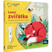 Albi Kouzelné čtení interaktivní minikniha Lesní zvířátka, věk 2+