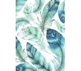 Nekupto Gift paper bag large 32.5 x 26 x 13 cm Feathers 1891 40 KFL