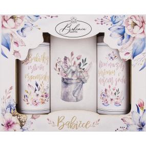Bohemia Gifts Babičce sprchový gel pro ženy 100 ml + šampon na vlasy 100 ml + sůl do koupele 110 g, kosmetická sada