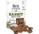 Brit Jerky Sušené masové pamlsky z králíka a kuřete pro dospělé psy 80 g