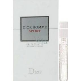 Christian Dior Dior Homme Sport toaletní voda 1 ml s rozprašovačem, Vialka