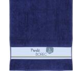Albi Ručník Prostě borec, lodička, modrý 90 x 50 cm