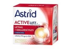 Astrid Active Lift OF20 liftingový omlazující noční krém pro zralou pleť 50 ml