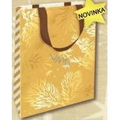 Nekupto Dárková papírová taška s ražbou malá 18 x 11 x 8 cm Vánoční 1737 WLFS