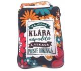 Albi Skládací taška na zip do kabelky se jménem Klárka 42 x 41 x 11 cm