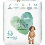 Pampers Pure Protection velikost 5, od 11+ kg plenkové kalhotky 24 kusů