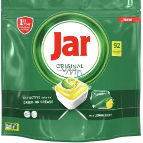 Jar Original All in One Lemon kapsle do myčky nádobí 92 kusů