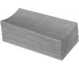Katrin Z-Z Papírové ručníky skládané jednovrstvé šedé, 250 ks