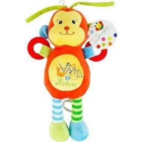 First Step Plyšová hračka hrající natahovací Opička 37 cm 1 kus
