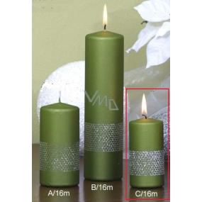 Lima Stuha svíčka válec světle zelená 50 x 100 mm 1 kus