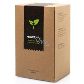 Aromatica Migréna bylinný čaj 20 x 2 g