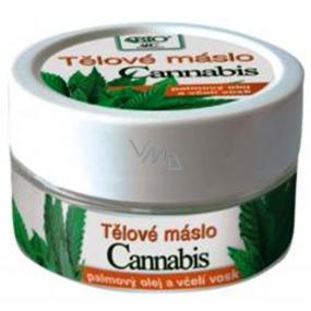 Bione Cosmetics Bio Cannabis s palmovým olejem a včelím voskem Tělové máslo 150 ml