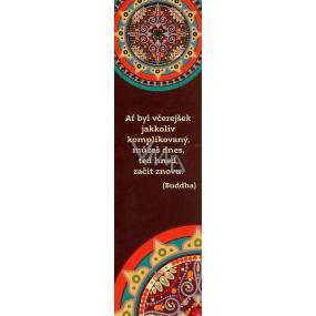 Albi Papírová záložka - Mandala s citátem