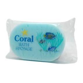 Coral Bath Sponge koupelová houba různé barvy 15 x 10 x 5 cm