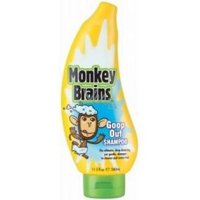 Monkey Brains 2v1 šampon a sprchový gel pro děti 340 ml