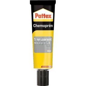 Pattex Chemoprén Transparent lepidlo na vodovzdorné spoje kombinace materiálů tuba 50 ml