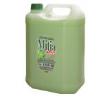 Mitia Family Green Apple tekuté mýdlo náhradní náplň 5 l