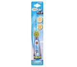 Thomas & Friends - Lokomotiva Tomáš Soft blikající zubní kartáček pro děti s časovačem 1 minuty