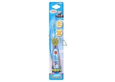 Mašinka Tomáš Soft blikající zubní kartáček pro děti s časovačem 1 minuty