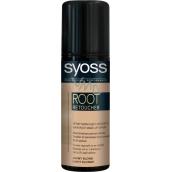 Syoss Root Retoucher sprej na odrosty Světle plavý 120 ml