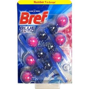 Bref Blue Aktiv Fresh Flowers Wc blok 3 x 50 g, megapack