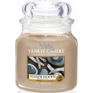 Yankee Candle Seaside Woods - Přímořské dřeva vonná svíčka Classic střední sklo 411 g