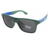 Dudes & Dudettes Sluneční brýle pro děti zeleno modré Z404CP