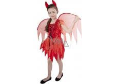 Karnevalový kostým Čertice dětská velikost M