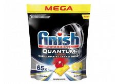 Finish Quantum Ultimate Lemon tablety do myčky, chrání nádobí a sklenice, přináší oslnivou čistotu, lesk 65 kusů