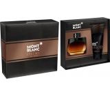 Montblanc Legend Night parfémovaná voda pro muže 50 ml + balzám po holení 100 ml, dárková sada