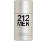 Carolina Herrera 212 Men deodorant stick pro muže 75 ml