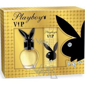 Playboy Vip for Her toaletní voda 30 ml + tělové mléko 150 ml, dárková sada