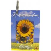 Nekupto dárková kartička K narozeninám vše nej! 7 x 5,5 cm 1 kus. K29 011