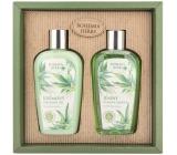 Bohemia Gifts Cannabis Konopný olej sprchový gel 250 ml + šampon na vlasyn 250 ml, kosmetická sada