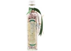 Bohemia Gifts & Cosmetics Ibišek relaxyční sůl do koupele s filtračním sáčkem 260g skleněný obal