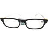 Berkeley Čtecí dioptrické brýle +2,5 černé bílé stranice 1 kus MC2 MC2151