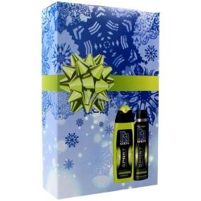 Fa Men Sport Energy Boost sprchový gel 250 ml + Men Sport Energy Boost antiperspirant sprej pro muže 150 ml, kosmetická sada