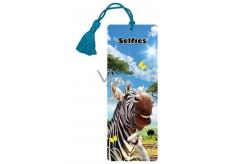 Prime3D záložka - Zebra 5,7 x 15,3 cm